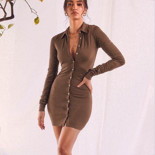 Long-Sleeve-Bodycon-Mini-Dress-OD030-2