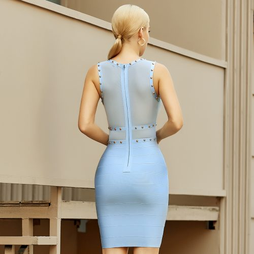 Mesh-Sleeveless-Bandage-Dress-K1095-3