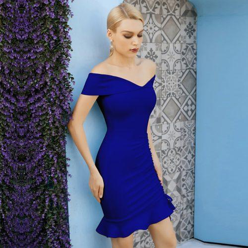 Off-Shoulder-Fishtail-Bandage-Dress-K1088-10