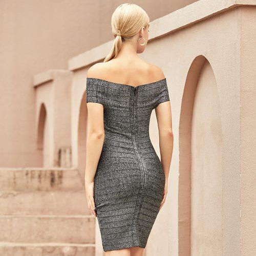 Off-Shoulder-Stripe-Bandage-Dress-K1065-6