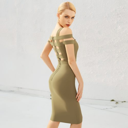 Off-The-Shoulder-Hollow-Out-Bandage-Dress-K1100-3