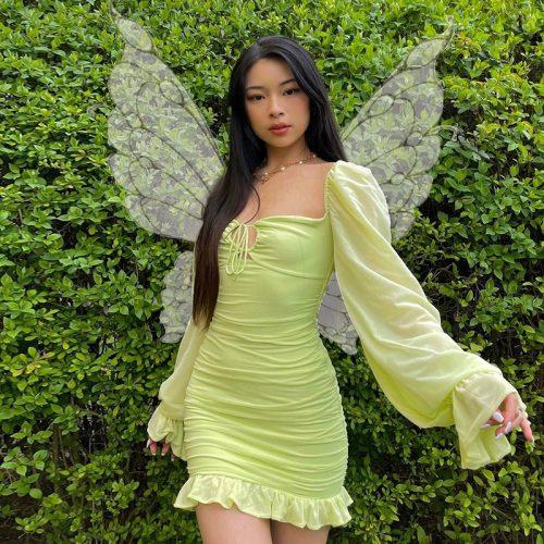 Puff-Sleeve-Bodycon-Dress-OD015-19