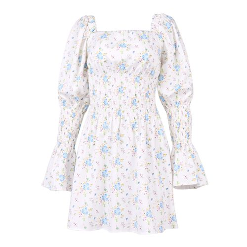 Puff-Sleeve-Floral-Dress-OD012-17