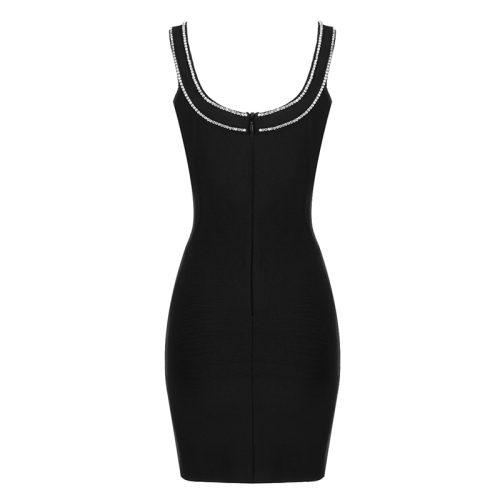 Rhinestone-V-Neck-Strap-Bodycon-Dress-K1074-5