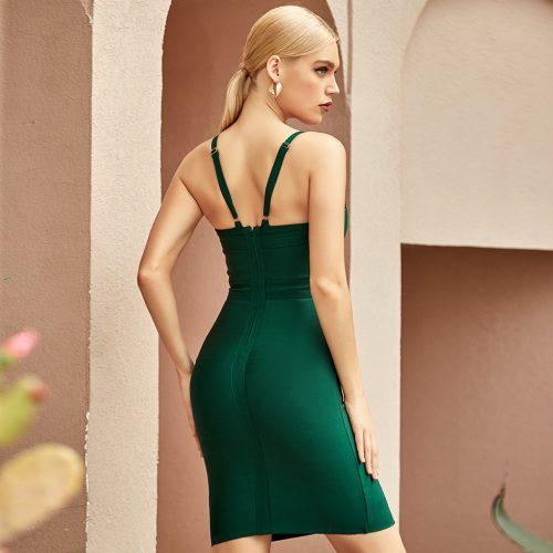 V-Neck-Strap-Bandage-Dress-K1067-1