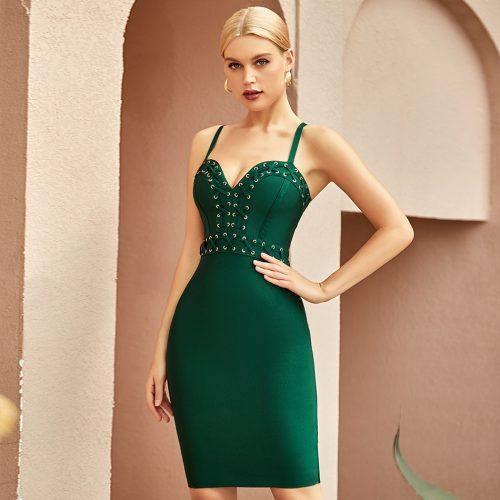 V-Neck-Strap-Bandage-Dress-K1067-4