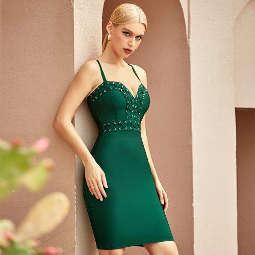 V-Neck-Strap-Bandage-Dress-K1067-5
