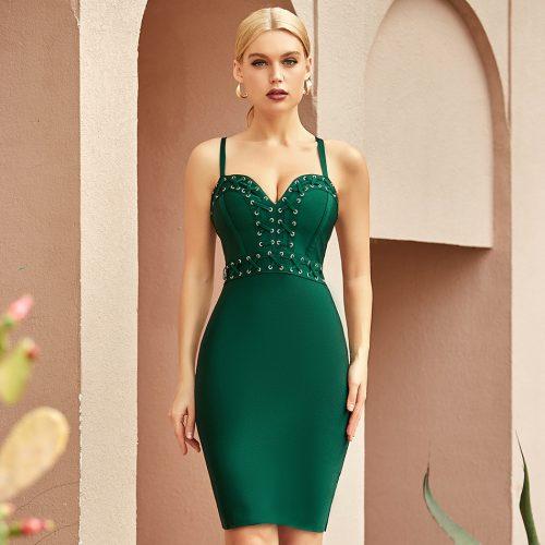 V-Neck-Strap-Bandage-Dress-K1067-6