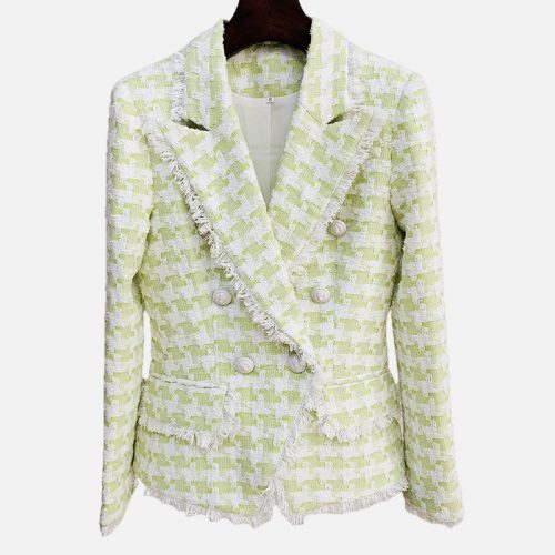 Double-Breasted-Fancy-Plaid-Blazer-D008-2