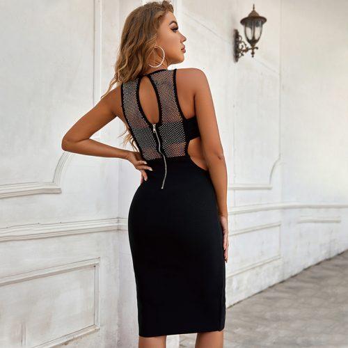 Gridding-Blink-Bandage-Dress-B1214-1