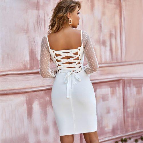 Mesh-Long-Sleeve-Bandage-Dress-B1213-11