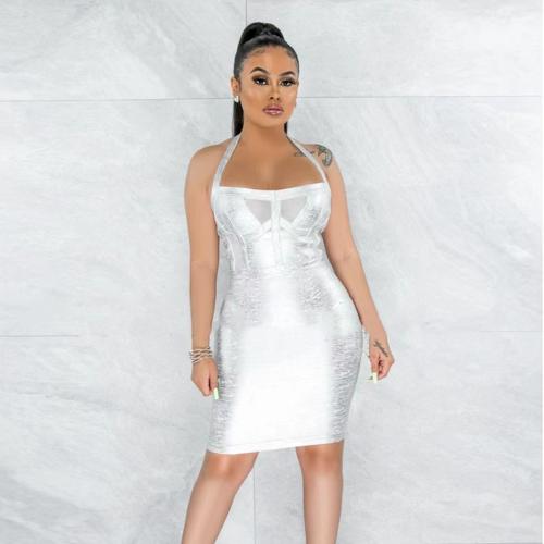 Metallic-Halter-Bandage-Dress-B1211-3_