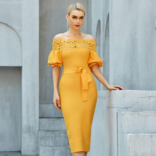 Off-Shoulder-Lace-Bandage-Dress-B1205-3