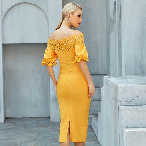 Off-Shoulder-Lace-Bandage-Dress-B1205-4