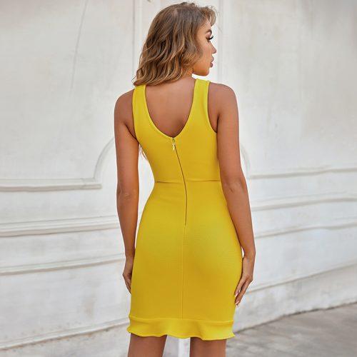 V-Neck-Hollow-Out-Bandage-Dress-B1212-16