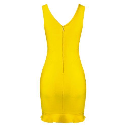 V-Neck-Hollow-Out-Bandage-Dress-B1212-2