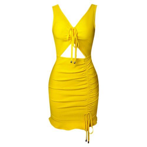 V-Neck-Hollow-Out-Bandage-Dress-B1212-20